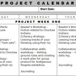 summer pd how to build a calendar for project based learning