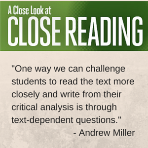Miller Close Reading