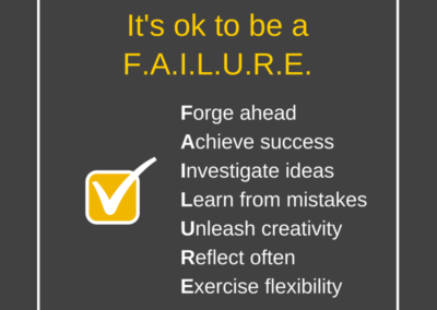 Be a Failure
